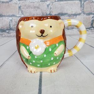 Pier 1 Imports Spring Hedgehog Coffee Tea Mug
